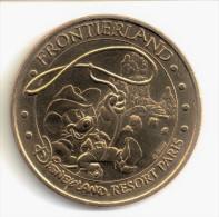 """Monnaie de Paris """"77.Disney n�4-Frontierland"""" 2004B"""