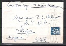 FRANCE 288 Sur Lettre Pour Le Nigéria 11/12/1934 - France