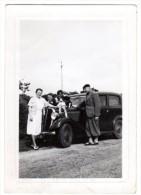 < Automobile Auto Voiture Car >> Petite Photo Originale 7 X 10 Renault? Famille Enfant - Automobiles