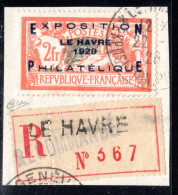 N° 257A (EXPO LE HAVRE 1929 Signé CALVES)  COTE= 1400 Euros !!! - France