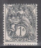 107 Type Blanc 1c Gris - 1900-29 Blanc