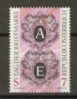 Austria - 1997 Stamp Day 7s MNH **          Sc 1725 - 1945-.... 2nd Republic