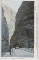 Taïwan - The Cliff Of E.W Cross Island Highway - Autobus - Cancellation - Taiwan