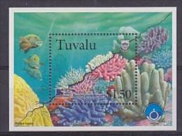 Greenpeace 1999 Tuvalu Corals M/s ** Mnh (18462) - Tuvalu