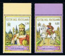 2014 - VATICAN - VATICANO - VATIKAN - D16E1 - MNH  SET OF 2 STAMPS ** - Vatican