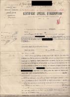 Rare Document : Lot De Colonisation. Empire Cherifien. Protectorat Français. - Landwirtschaft