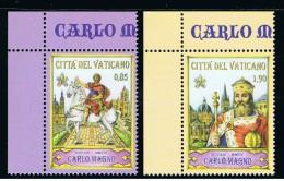 2014 - VATICAN - VATICANO - VATIKAN - D16F - MNH  SET OF 2 STAMPS ** - Vaticano