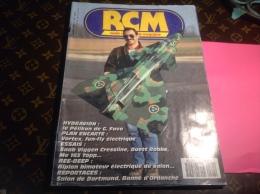 """Revue """"RCM"""" Radio Commande 1993 Hydravion Avion En L état - Littérature & DVD"""