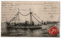 33 - ARCACHON . FÊTE DU 15 AOÛT : BATAILLE DE FLEURS - Réf. N°635 - - Arcachon