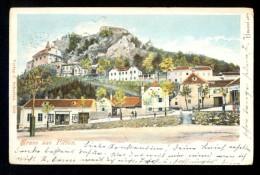 Gruss Aus Pitten / Verlag C. Scherian 7018  ------ Old Postcard Traveled - Pitten