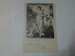 CARTOLINA ROMA - LEONARDO DA VINCI - LEDA - GALLERIA BORGHESE - Expositions