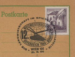1964 Austria Vienna Plough Plow Farming Agriculture Wheat Cereal Charrue Fattoria Agricoltura Aratro Grano - Agriculture