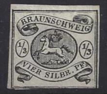Germany (Braunschweig)  1853-56  (*) MNG  Mi.5 - Braunschweig