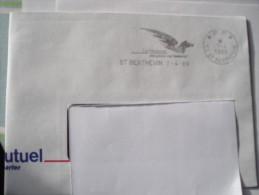 53 SAINT BERTHEVIN - Flamme Pégase P.P Sur Enveloppe Entière (rare) - Mechanical Postmarks (Advertisement)