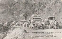 SUR LA BENGUET ROAD (ILES PHILIPPINES)
