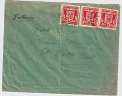 Kanalinseln, 1942, Bedarfs-Brief, Stempel! , S753 - Besetzungen 1938-45