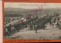 CPA 25  PONTARLIER  Au Camp Des Parceuses  L' Abreuvoir  Personnages NOV 2014 DIV  880 - Regimente