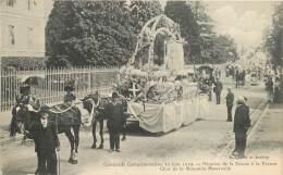 Annecy 74 Haute Savoie  Cavalcade Juin 1910 Réunion Savoie France Char De La Mutualité Gardet - Annecy