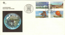 RSA - South Africa - Sud Africa - 1983 - Weather Stations - Pretoria - FDC - FDC