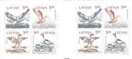 LATVIJA   Michel  #   MH 1  ** - Oiseaux