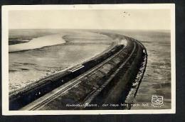 Germany 1928 Postcard Hindenburgdamm Der Neue Weg Nach Sylt (V770) - Sylt