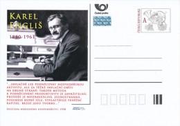 Czech Rep. / Postal Stat. (Pre2011/27) Karel Englis (1880-1961) Czech Economist And Politician - Postwaardestukken