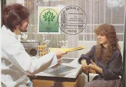 Berlin 1985 Weltkongress Gynäkologie Und Geburtshilfe  1v Maximum Card (18485) - [5] Berlijn