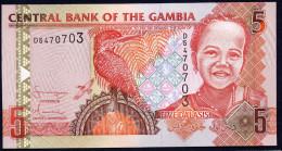 GAMBIA : 5 Delasis  - 2005 - UNC - Gambia