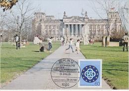 Berlin 1984 Konfereznz Der Europäischen Kulturminister In Berlin  1v Maximum Card (18486) - [5] Berlijn