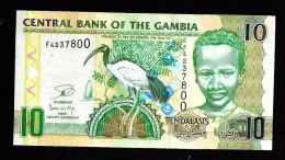 GAMBIA : 10 Delasis  - 2013 - UNC - Gambia