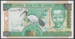 GAMBIA : 10 Delasis  - 2001 - UNC - Gambia