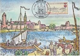 Berlin 1982 750Y Stadt Spandau  1v Maximum Card (18493) - [5] Berlijn