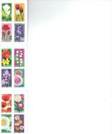 France Carnet N° BC 662 ** Autoadhésif - NATURE - «Dites-le Avec Des Fleurs» - Carnets