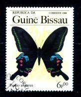 Repubbl. Di GUINEA - BISSAU - Farfalle - Butterfly - Year 1984 - Usato -used. - Farfalle