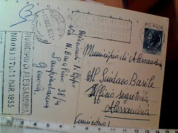 ANNULLO INTERO TARGHETTA GENOVA FATE LEALMENTE IL VOSTRO DOVERE CONTRIBUENTI 1955 EN9978 - 1946-.. Republiek