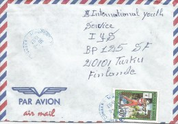 Guinea 1993 Conakry Olympic Games Lillehammer Biathlon Shooting Cover - Guinee (1958-...)