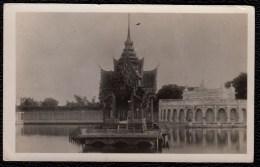 PHOTO CARD - CARTE PHOTO SIAM - - * BANG PA SUMMER PALACE AYUDHYA * RARE !!! - Thaïland