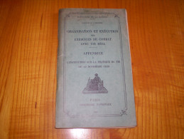Infanterie : Exercices De Combat Avec Tir Réél : 1933 . Croquis, Schémas Dépliants En N&b. - Catalogues