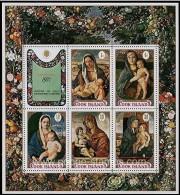 Cook Islands 1971 Yvertn° Bloc 10-11 *** MNH Cote 8 Euro Noel Kerstmis Christmas - Cook