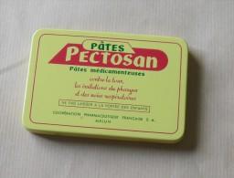 Boîte De Médicaments Métallique Ancienne. Pâtes PECTOSAN. - Dosen