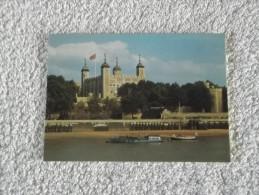 LONDRES.LA TOURS DE LONDRES ET LA TAMISE. - Tower Of London