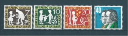 Allemagne Fédérale Timbre De 1959   N°195  A  198  Neufs * - Ungebraucht