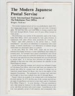 Japan, Yokohama Postgeschichte 1871-1886 Auf  5 Doppelseiten - Air Mail And Aviation History
