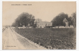 33 GIRONDE - CARS Château Barbé (carte Inconnue Sur Delcampe) - Altri Comuni