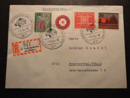 BRD Mi. Siehe Scan  SST HOGAFA Ludwigshafen 1.5.64 - Cartas