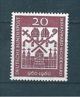 Allemagne Fédérale Timbre De 1960   N°209  Neuf - Unused Stamps