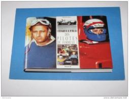 M886 *  (vente Directe )     Carte Sur La Bible Des Pilotes De Formule 1 ( 1950- 1990) - Grand Prix / F1