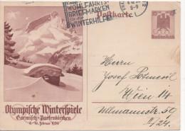 Nr. 2902,  Ganzsache  Deutsches Reich,  Garmisch-Partenkirchen - Entiers Postaux