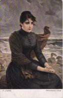 AK Künstlerkarte - O. Lingner - Versunkenes Glück - 1917 (10074) - Künstlerkarten