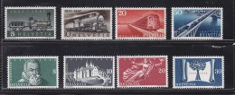1947/48    N°  277 à 280  281 à 284  NEUFS**              CATALOGUE ZUMSTEIN - Suisse